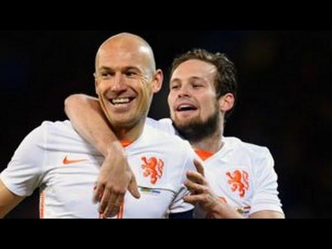 Wales 2 - 3 Netherlands • All Goals & Highlights • 13/11/2015