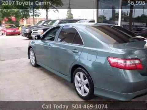 Used Cars Kenner >> 2007 Toyota Camry Used Cars Kenner La