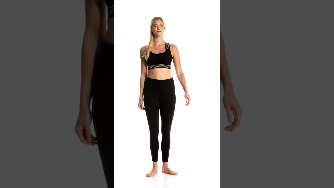 98144db6bb Beyond Yoga Sheer Illusion Yoga Bralette