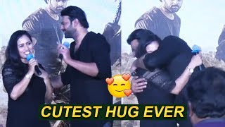 Darling Prabhas Cutest Hug ever 💘 to his lady fan | Saaho Movie | Filmylooks