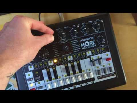 MODE MACHINES x0xb0x MK3 FINAL EDITION (James Welsh User Session 3