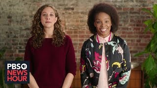 Comedy writers Amber Ruffin and Jenny Hagel's Brief But Spectacular take on late night