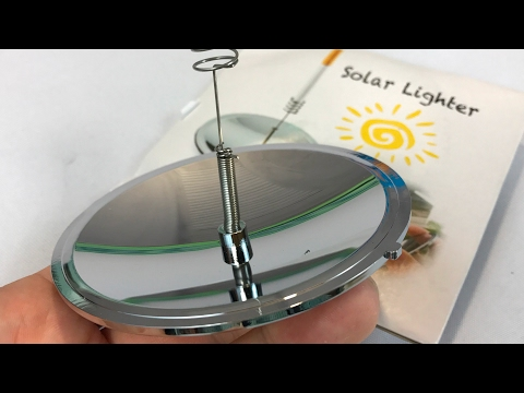 Emergency Survival Camping Solar Reflector Igniter Dish Tool
