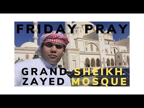 Grand Sheikh Zayed Mosque I Jumah Pray I Special Lunch