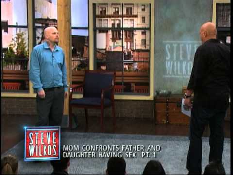 Thumbnail: Mom Confronts Father And Daughter Having Sex Pt. 1 (The Steve Wilkos Show)