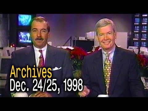 The Weather Channel Archives - December 24/25, 1998 - Early Morning