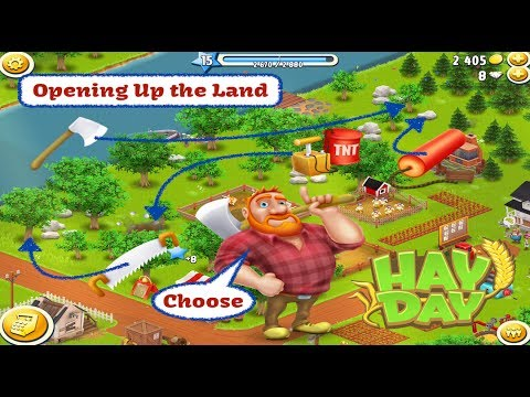 Hay Day - Opening Up the Land for Lower Levels