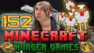 Minecraft: Hunger Games w/Mitch! Game 152 - Chickens of Doom!