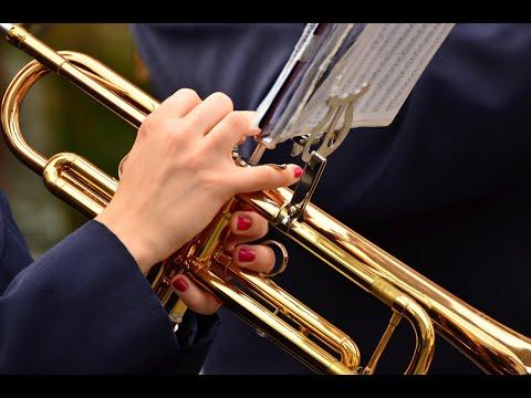 Trumpet sheet music notes, La Paloma