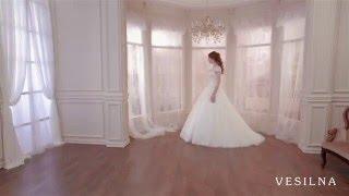 Пышное свадебное платье 2016 года от VESILNA™ модель 3007