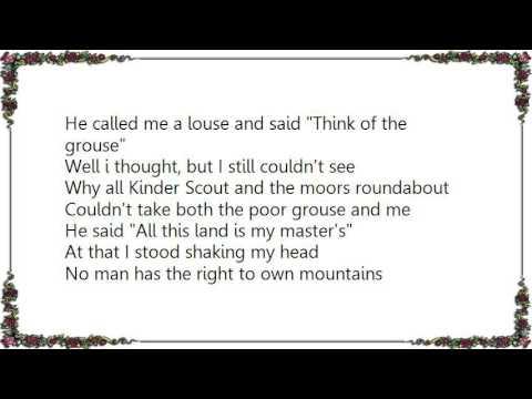 Ewan MacColl - The Manchester Rambler Lyrics