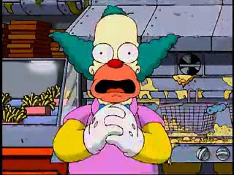 Burger King Krusty Youtube