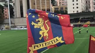 Potenza-Catania 3-1 (03/11/2018) - INGRESSO SQUADRE