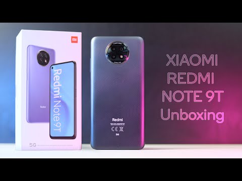 Xiaomi Redmi Note 9T Unboxing - First Impressions EXCLUSIVE!