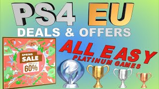 PS4 [EU] SPRING SALE | All Eas…
