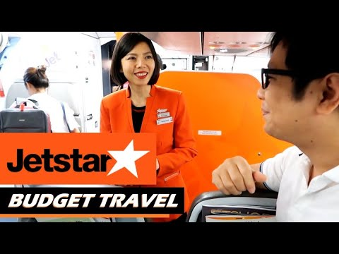 LOW COST AIR TRAVEL | Jetstar Asia from Jakarta to Singapore