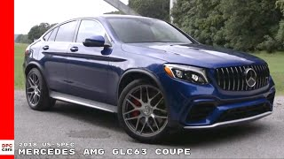 2018 Mercedes AMG GLC63 Coupe