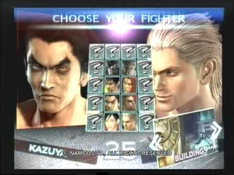 Tekken 4 Trailer With Early Version Gameplay Youtube