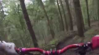 The Wrekin Steep track DH MTB Michael Dawes