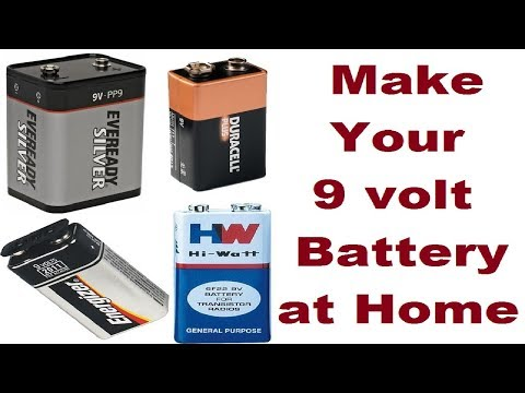 how-to-make-9-volt-battery,-rechargeable,-9-volt-battery-life-hack-at-home-easy-way-2019-shop-online