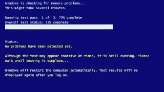 how to run memory diagnostics tool in windows 7