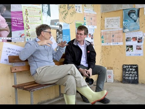 Bill Gates & John Green: Ethiopia's Progress in Health and Development