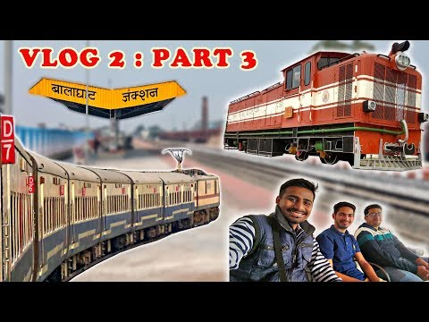 INDORE to DURG - A Journey : RAIL VLOG (Hindi) Part 3