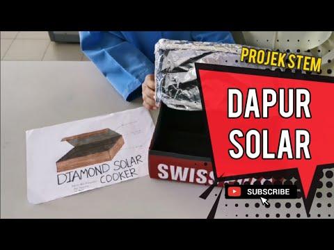 Mudah Bina Dapur Solar Cooker