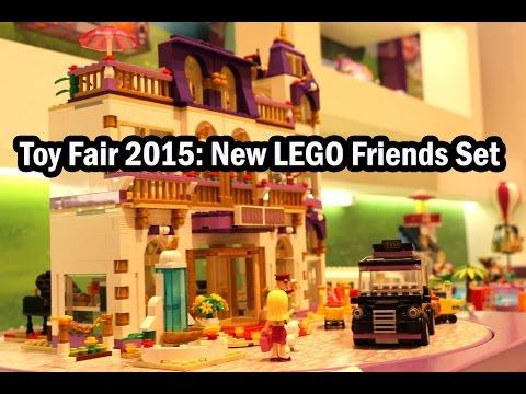 Toy Fair 2015 Lego Friends Heartlake Grand Hotel Set 41101 Youtube