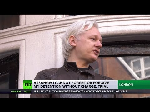 'I cannot forget or forgive' - Julian Assange on Swedish prosecutors' conduct of rape case