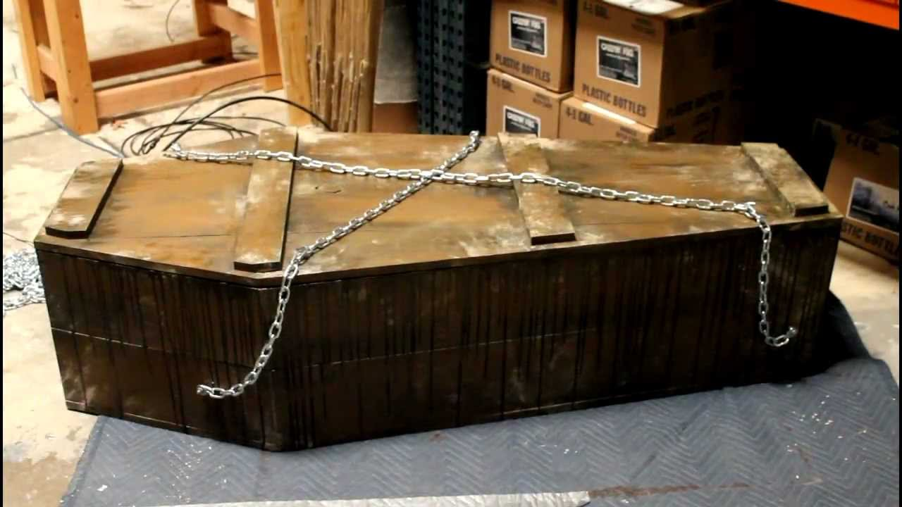 coffin bouncer diy kit diy halloween prop kit halloween fx props youtube