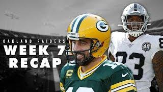 Oakland Raiders vs Green Bay Packers Game Recap