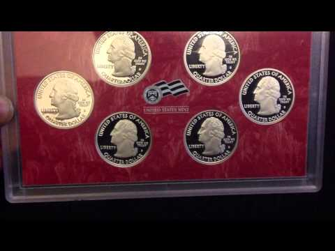 Silver State Quarters Proof Sets