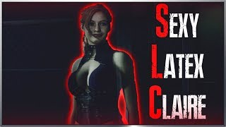 Sexy Latex Claire In Resident Evil 2 Remake