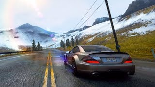 NEED FOR SPEED HOT PURSUIT 2010   AVALANCHE   MERCEDES-BENZ SL 65 AMG BLACK SERIES V12 BI-TURBO