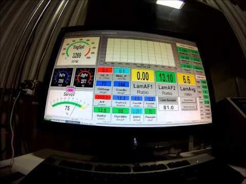 2014 LT1 Stock Displacement Engine Dyno Featuring PRC Heads and TSP Cam