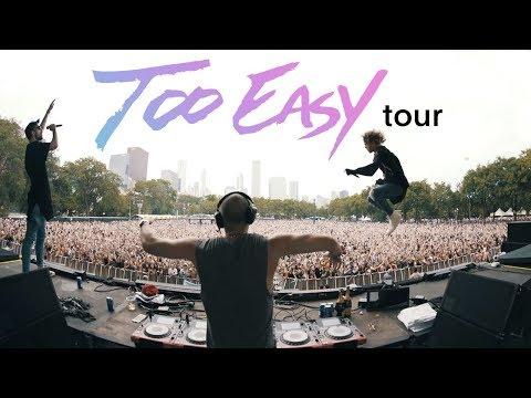 #TooEasyTour