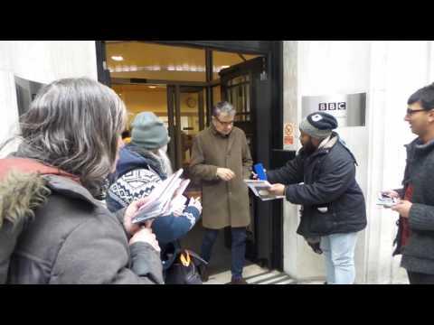 Rowan Atkinson In London 20 12 2016