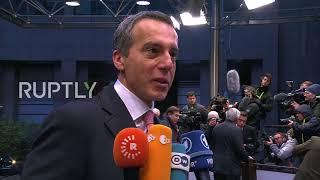 Belgium: EU leaders arrive ahead of next stage of Brexit negotiations