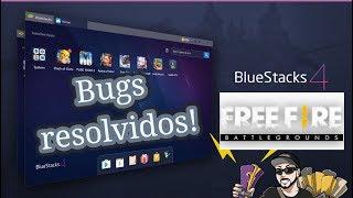 Saiba como resolver o Bug do Free Fire no PC : emulador  Bluestacks 4 ( Update )