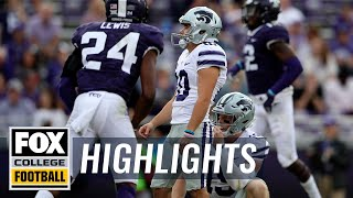TCU vs.Kansas State | FOX COLLEGE FOOTBALL HIGHLIGHTS
