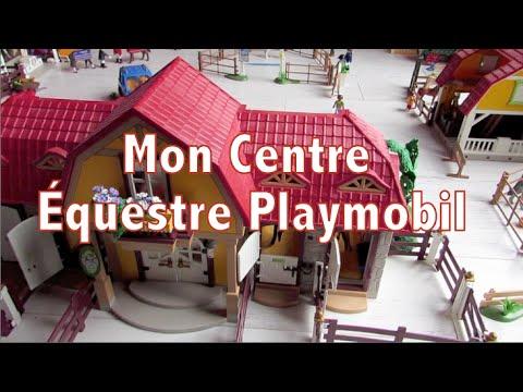 mon centre equestre playmobil pr sentation youtube. Black Bedroom Furniture Sets. Home Design Ideas