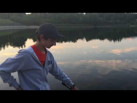 Fishing At Guelph Lake