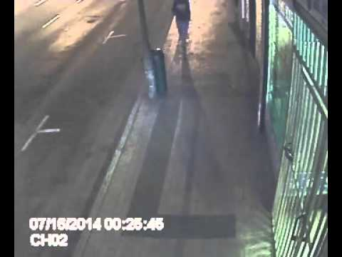 Crime In Cape town--live on CCTV--