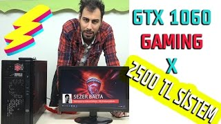 2500 TL GAMING PC! GTX 1060 çift Kanal SSHD G4560 PC Topluyoruz ''2017'' # Darboğaz