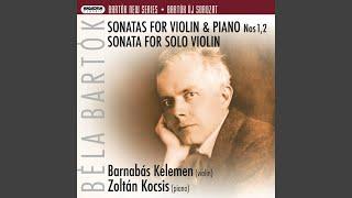 Sonata for Violin and Piano No. 1: I. Allegro appassionato