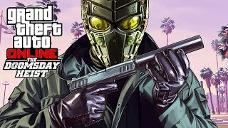 GTA 5 The DoomsDay Heist - NEW GTA 5 DLC! #2