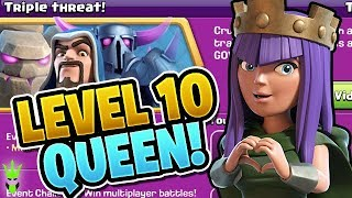GETTING LEVEL 10 QUEEN! - Let's Play TH9 Ep.6 - Clash of Clans