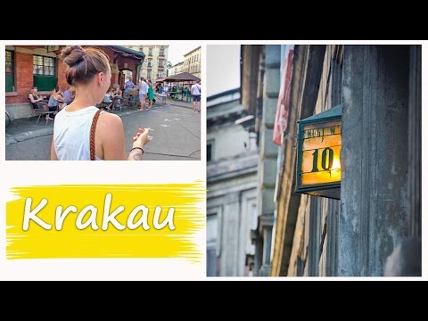 TRAVEL POLAND | KRAKAU Vlog 48 - Exploring the Jewish Quarter Kazimierz
