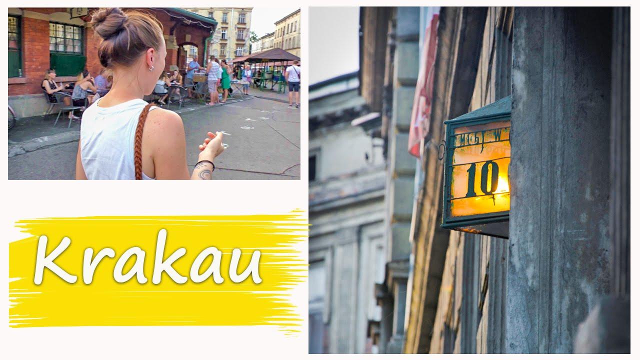 TRAVEL POLAND | KRAKAU Vlog 48 - Exploring the Jewish Quarter Kazimierz